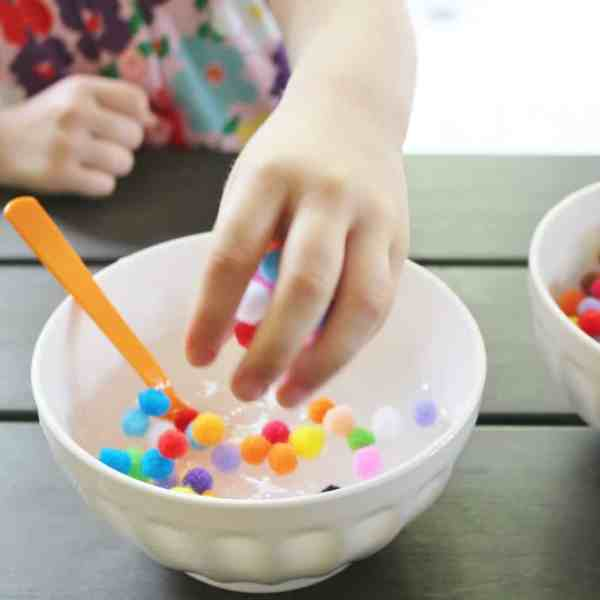 create polka dot slime