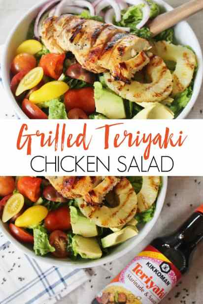 grilled teriyaki chicken salad recipe