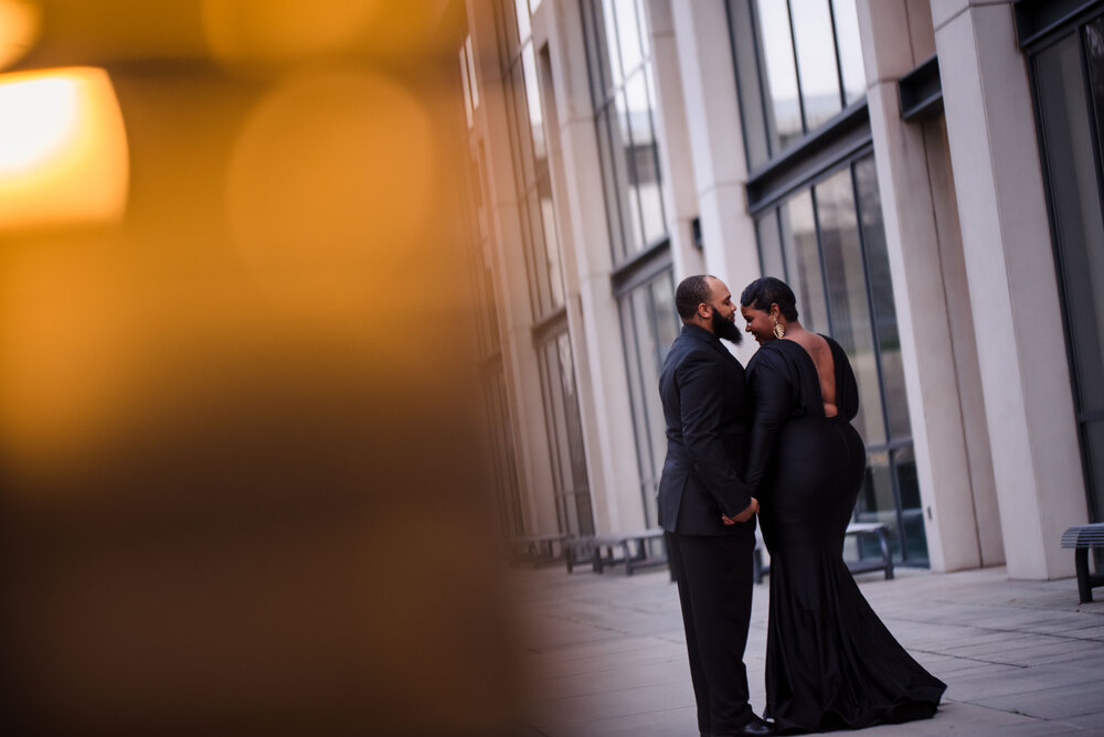 Uptown Engagement Session by Charlotte Wedding Photographers