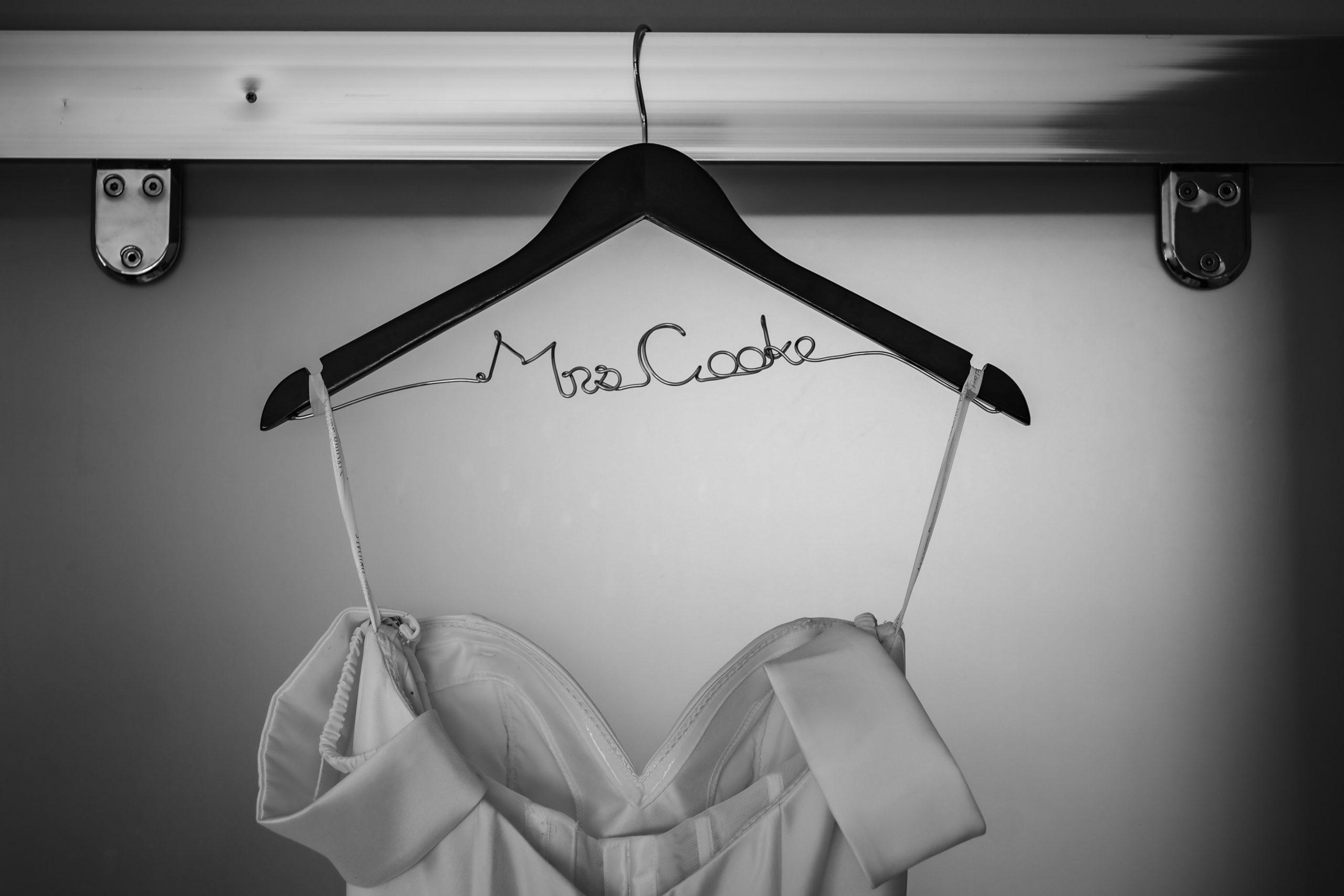 Wedding Dress Hanger Inspriation