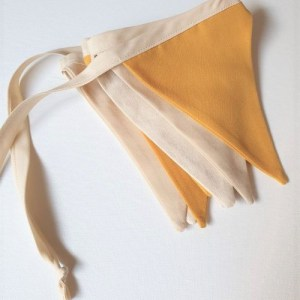 mini neutral bunting