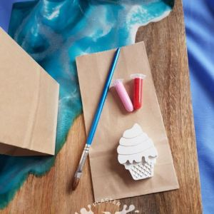 ice cream eco friendly party favour