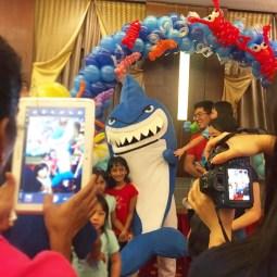 Roving Shark Mascot