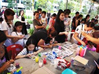 Window Paint Art Activity Singapore