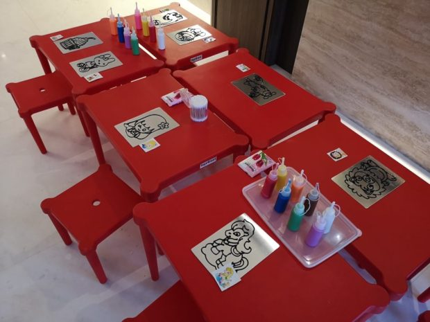Art and Craft Activtiy for Birthday Party