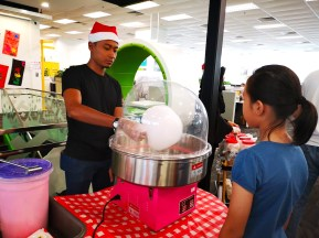 Pink Candy Floss Rental Singapore