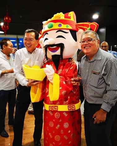 Cai Shen Ye Mascot Rental