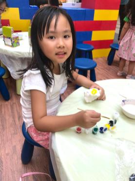 Coin Bank Painting Activity Singapore