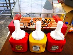 Hotdog Bun Live Food Station Singapore