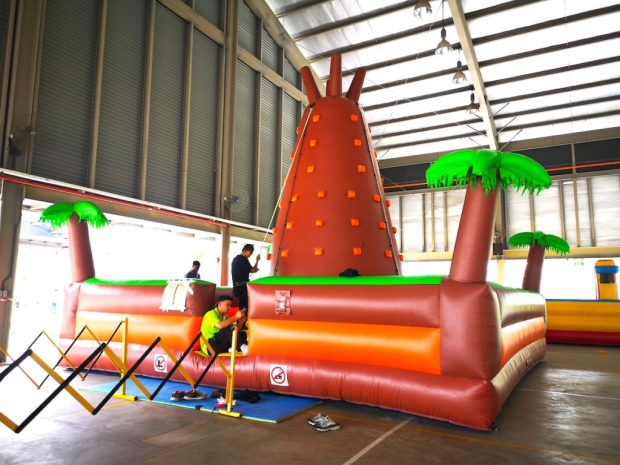 Rock Climbing Inflatable Rental Singapore
