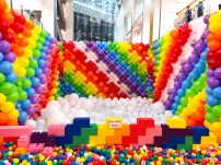 Balloon Rainbow Pit for Hire