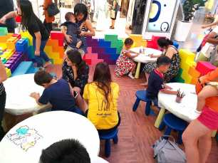 Kids Colouring Activity Area