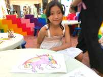 rainbow colouring activity
