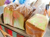 Traditional Ice Cream Rainbow Bread
