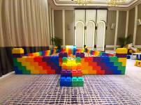 Giant Lego Bricks Ball Pit