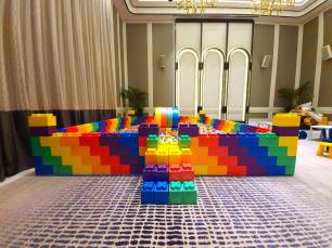 Giant Lego Bricks Ball Pit