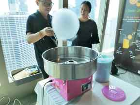 Candy Floss Machines for hire Singapore