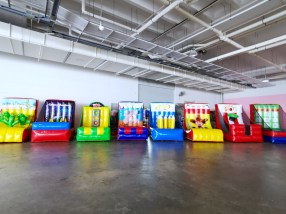 Inflatable Game Stalls Rental
