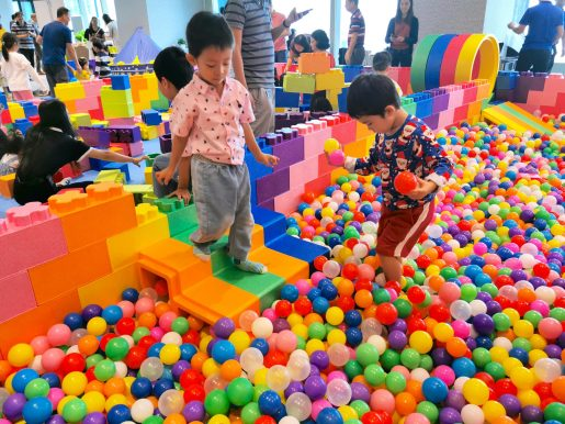 Ball Pit Stairs