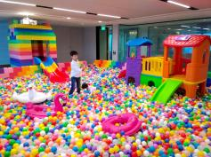 Giant Lego Ball Pit in Singapore