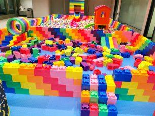Giant Lego Bricks Playground Rental