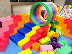 Kids Lego Tunnel and Slide Rental