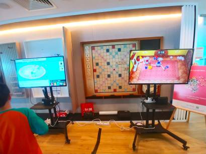 Nintendo Switch with TV Rental Singapore