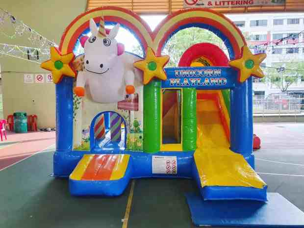 Unicorn Bouncy Castle Rental