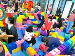 giant lego building area
