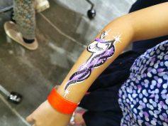 unicorn hand painting singapore