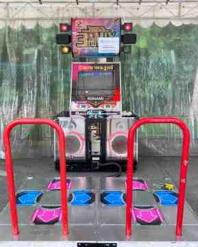 DDR Arcade Machine