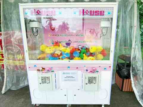 Double Player Claw Catcher Machine Singapore