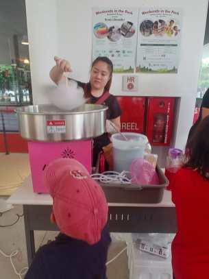 Candy Floss Rental Singapore