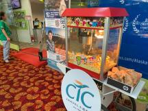 Popcorn Cart Station Rental Singapore