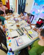 Canvas Art and Craft for Kids Party