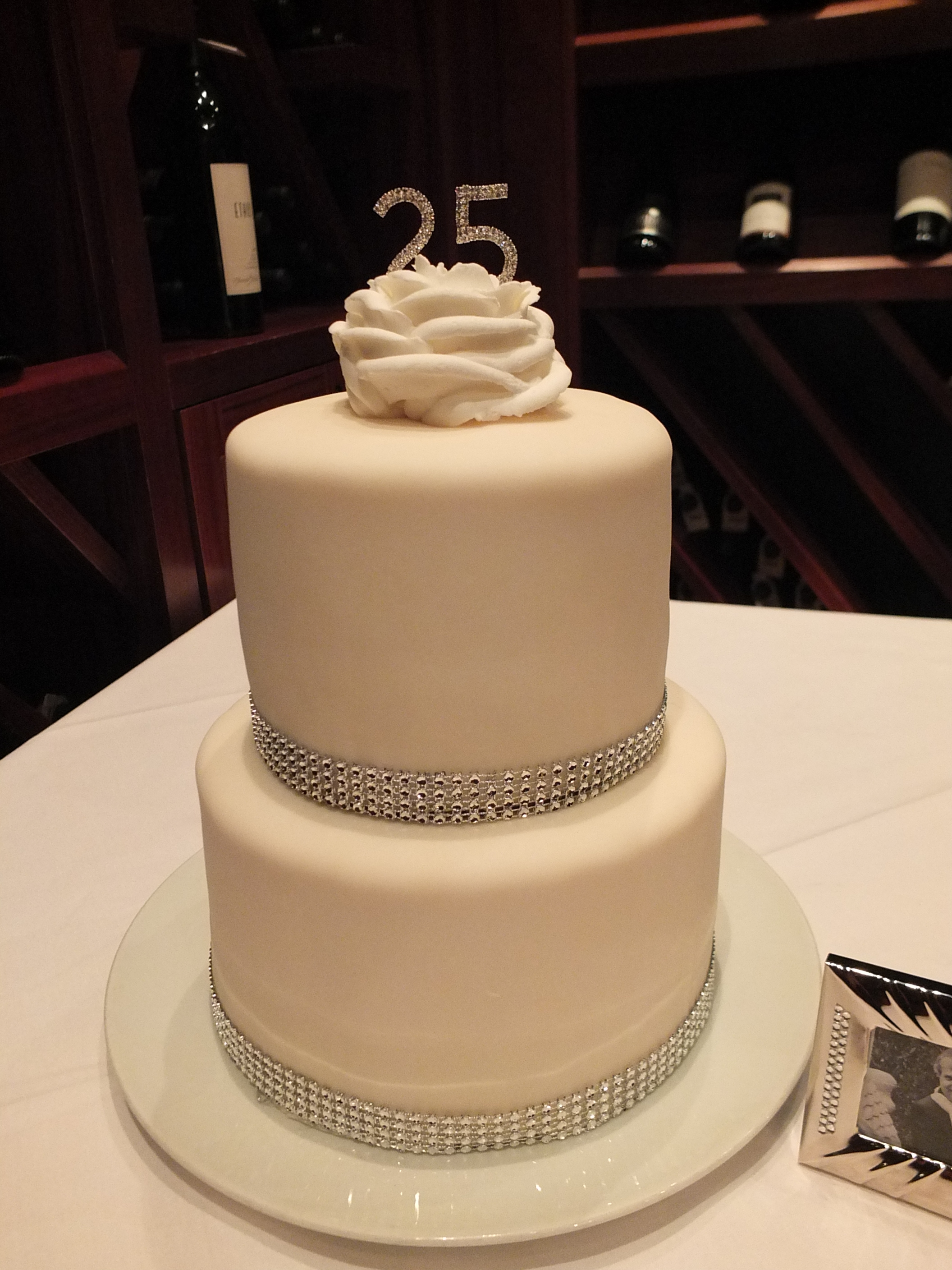 25th Silver Wedding Anniversary Party Dinner Ideas