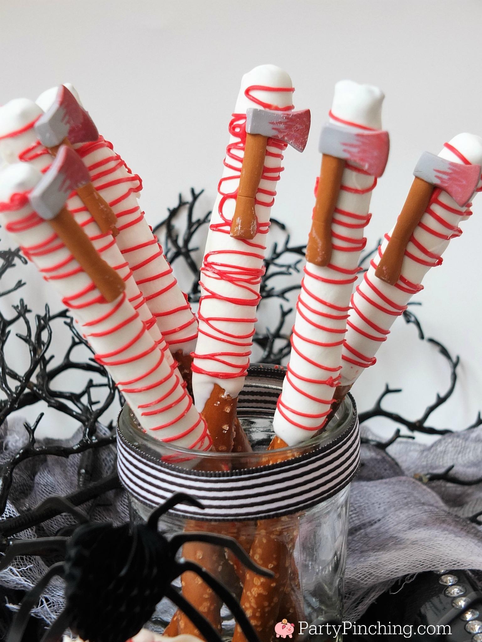 Spooky Halloween Treats Bloody Spider Cupcakes Brain