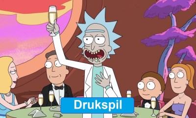 Rick and morty drukspil