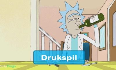 Rick og Morty Drukspil