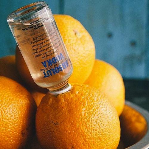 Appelsin med Alkohol