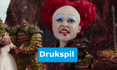 Alice through the looking Glass Drukspil