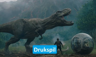 Jurassic World - Fallen Kingdom Drukspil