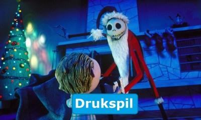 The Nightmare before Christmas drukspil