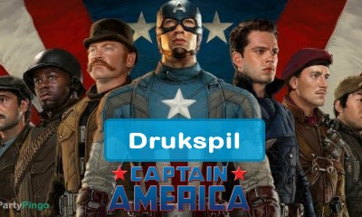 Captain America The First Avenger Drukspil