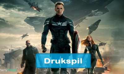 Captain America Winter Solider Drukspil