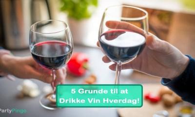 5 Grunde til at Drikke Vin Hverdag