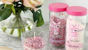 Pink Zebra Mason Jar Shade