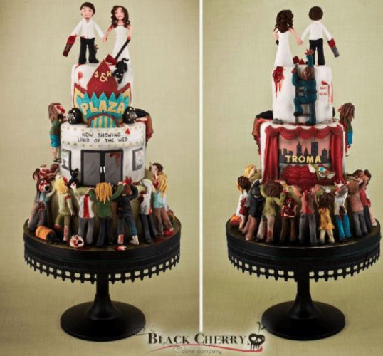 4 Most Outrageous Wedding Cakes   Party Pretty Events     Long Island     Image via Black Cherry Cakes