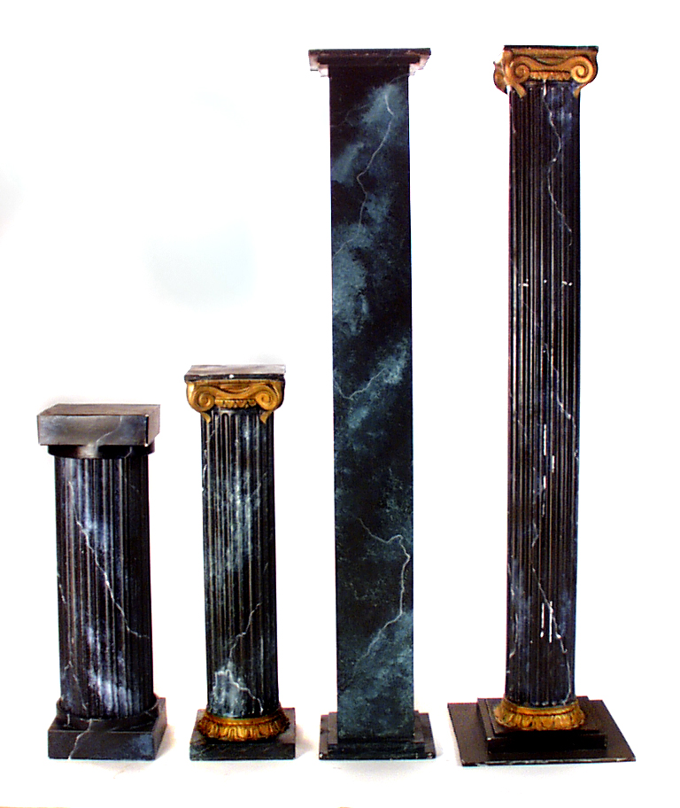 Green Marble Columns The Prop Shop