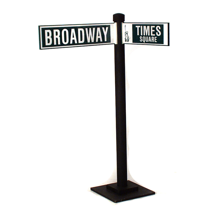 Broadway At Times Square Street Sign The Prop Shop